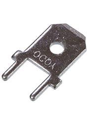 РС250-836LR, ножевая клемма на плату 6,3мм