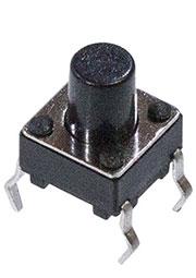 SWT-20-7.5 (KAN0610-0731B), кнопка тактовая 6х6 h=7.5мм (L-KLS7-TS6601-8)