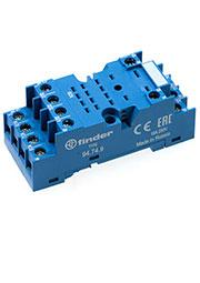 94749SMA, Розетка с винтовыми клеммами (под шайбу) для реле 55.32, 55.34, таймера 85.02, 85.04; прим