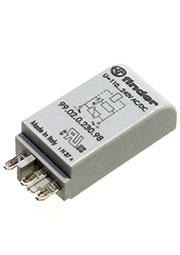 99.02.0.230.98, Модуль индикации и защиты; зеленый LED + варистор; 110...240В AC/DC