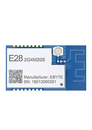 E28-2G4M20S, Module LoRa spread spectrum,FLRC; SPI; PCB/IPX; 2.4G; 20dBm; 6; 0.125M~2M; 15 * 26.5