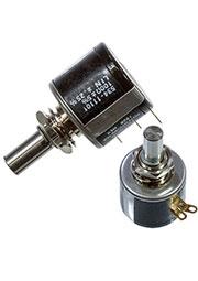 534B1101JC, Потенциометр 100 Ом 5% 2W 10(Elec)/10(Mech)Turns 6.34mm