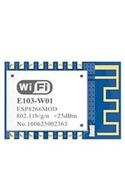 E103-W01, модуль WiFi, ESP8266EX, 2.4GHz, UART, 0.1 км