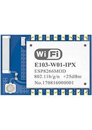 E103-W01-IPX, модуль WiFi, ESP8266EX, 2.4GHz, UART, 0.1 км