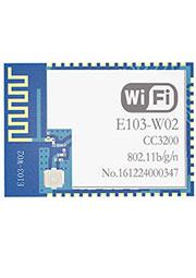 E103-W02, модуль WiFi, CC3200, 2.4GHz, UART, 0.3 км
