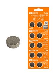 SQ1702-0043, щелочная батарейка AG10/LR1130