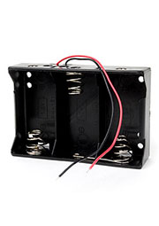 Bh3xD, батарейный отсек с двумя проводами