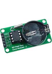DS1302 module, модуль часов реального времени без батареи