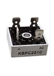 KBPC2510, диодный мост KBPC металл, 1000В 25А (MB2510)