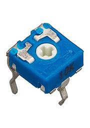 CA6V5 10К, подстроечный резистор 10 кОм 6мм