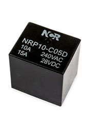 NRP10-C-05D, Реле 1FormC 5В 10A, 240В 20.3x16.6x20.2мм