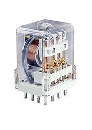 R15-2014-23-3230-KL, 863813  , 4CO, 10A(250VAC/24VDC), 230VAC, тест-кнопка без блок., LED
