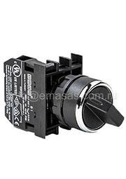 B100S30, Переключатель 2-0-1 с фиксацией (1НО)