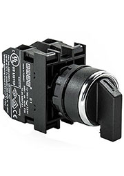 B100S32, Переключатель 2-0-1 без фиксации (1НО)