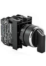 B101S32, Переключатель 2-0-1 без фиксации (2НО)
