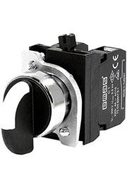 CM101S31, Переключатель 2-0-1 с фиксацией в 1 положении (2НО)