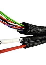 innoSNAP_70PET- 25, cамозакрывающаяся оплетка кабеля 22-25мм
