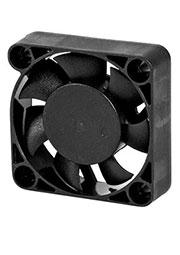 EC4010L12BA, Вентилятор 12В, 40х40х10мм , подш. качения, 4500 об/мин