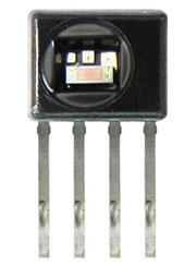 HIH8120-021-001, датчик относительной влажности и температуры I2C 2,3-5,5В, 2,0%, SIP-4