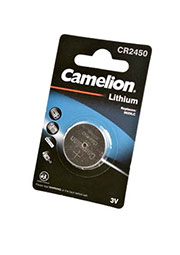 CR2450-BP1   Элемент питания    Camelion