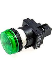 A20P-1EQM3G, контрольная лампа зеленая 30мм