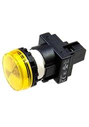 A20P-1EQM3Y, контрольная лампа желтая 30мм