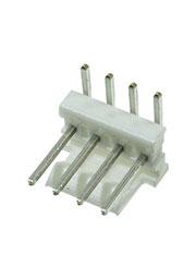 640457-4, соединитель провод-плата MTA-100 Шаг: 2.54 мм;