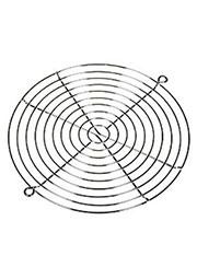 K-G17H10-2HA, решетка метал. для вентилятора 172х150мм (аналог SM7240F)