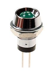 L-609G, Светодиод с держателем зеленый d=8.5мм
