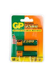 GP 250AAHC, аккумулятор PET-G ,  NiMH ( AA ) , 1шт.