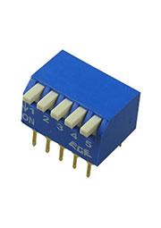 RPL-05, DIP переключатель 5 поз.уг.90 (аналог SWD3-5)