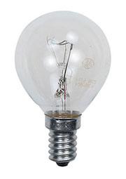 60D1/FR/E14, Лампа  60Вт, сферическая матовая, цоколь E14