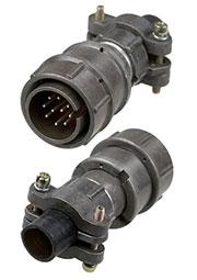 2PM22-10TJQB2, вилка на кабель 10 контактов  (аналог 2РМТ22КПН10Ш1В1В)