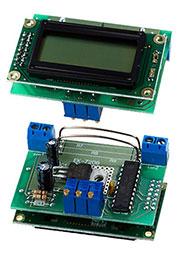 EK-7208N, встр.цифр.вольтметр+амперметр пост.тока с LCD дисп.без подс