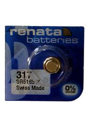 317  SR516SW, батарейка оксид-серебр., 1 шт.