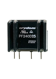 PF240D25, реле твердотельное 3-15VDC 25А/240VAC