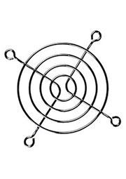K-G07F04-4HA, решетка метал. для вентилятора 70х70мм (аналог SM7240В1)