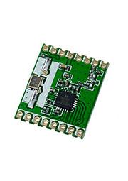 RFM67W-433S2, передатчик 433МГц FSK/GFSK/MSK/GMSK/OOK SPI