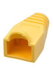 XYA055 YELLOW, Колпачок на разъем RJ45 желтый