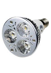 LED LAMP E14 3X1W 220В WW, Лампа светодиодная E14 3x1W 220В цвет теплый белый