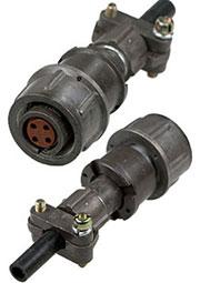2PM14-4TKQB2, розетка на кабель 4 контакта (аналог 2РМТ14КПН4Г1В1В)