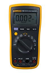 FLUKE 17B+, Мультиметр цифровой (с функцией измерения температуры) (Госреестр РФ)
