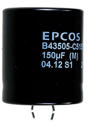 B43505C5157M, конденсатор электролитический 150мкФ 450В 105гр 30*35