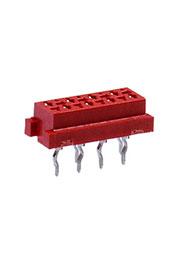 7-215079-8, Соединитель кабель-плата; Шаг: 1.27 мм; Контакты:8; 1A