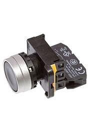 A204B-M1E10B, кнопка черная 250В 5А