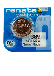 389 SR1130W, батарейка оксид-серебр., 1 шт.