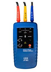 DT-902, индикатор порядка обмоток эл двиг направл вращ чередования фаз