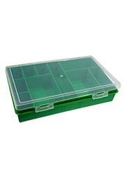 К2810, коробка-органайзер, 280х185х50мм, 10 ячеек, прямоуг.