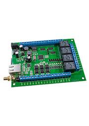 LAURENT-2G, KIT MP718GSM/LAN управляемый модуль 4реле/6IN/12OUT/2АЦП/