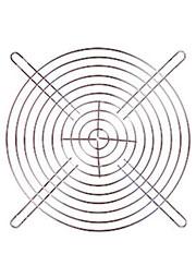 JL-180, решетка для вентилятора  180х180мм